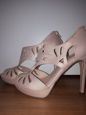 Graceland Chaussure à talons carrés rosé