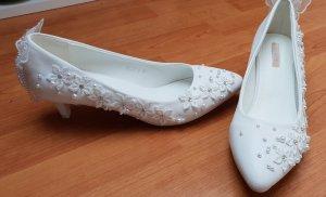 Pums, Hochzeitsschuhe, Schuhe weiß
