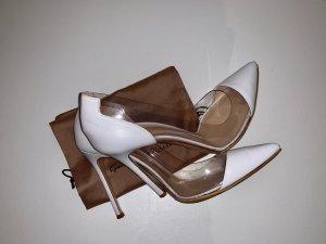 Pums von Gianvito Rossi Plexi, High Heels, Gr. 38,5, NP: 615,- €