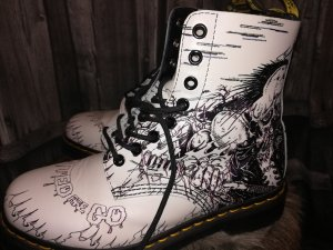 Punkige Dr. MARTENS Boots