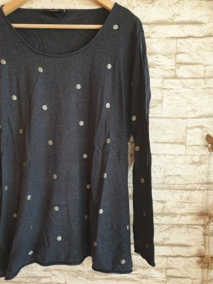 Punkte Pullover Long