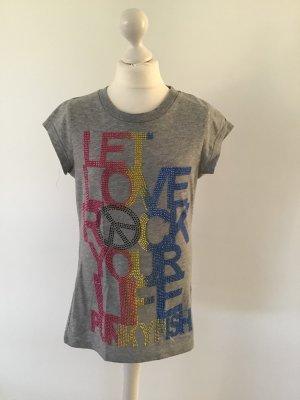 Punkyfish Shirt met print veelkleurig Katoen