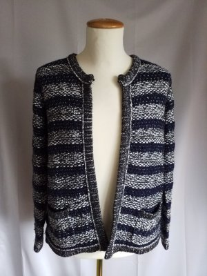Coarse Knitted Jacket multicolored