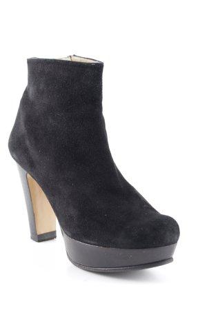 Pura Lopez Booties schwarz Elegant