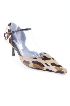 Pura Lopez High Heel Sandal leopard pattern extravagant style
