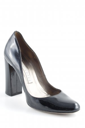 Pura Lopez High Heels schwarz Business-Look