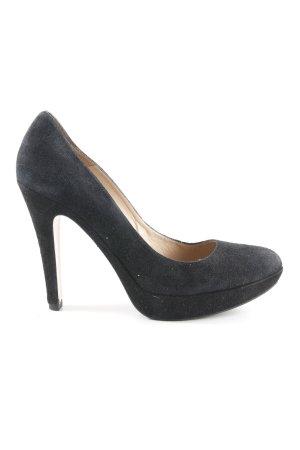 Pura Lopez High Heels schwarz Elegant