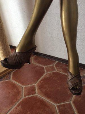 Pura Lopez Keilabsatz Sandaletten, top!