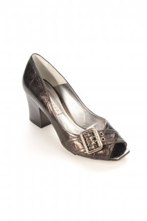 Pura Lopez Pumps schwarz Business-Look