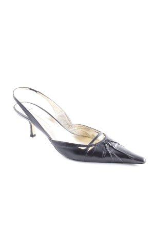 Pura Lopez Gesp-pumps zwart elegant