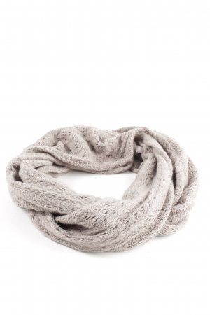 Pure Cashmere Snood grey brown casual look