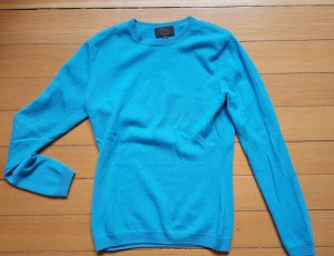 Pure Collection 100% Cashmere Pullover Rundhals UK 8 34 36 Strick