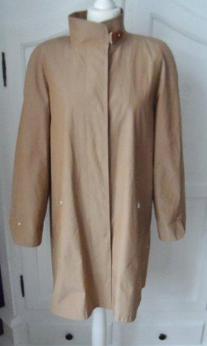 puristischer Delmod Mantel Gr. 42 camel wenig getragen