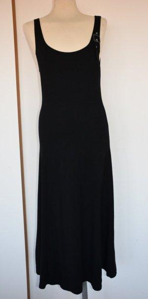 Puristisches, schwarzes Kleid von Passport Gr. 38