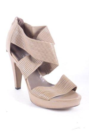 Puritano High Heel Sandal beige elegant