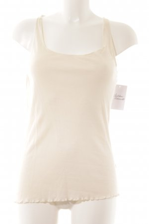 Puriti Tanktop creme Casual-Look