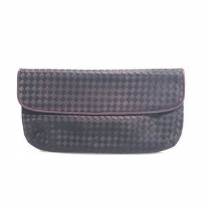 Purple Bottega Veneta Clutch