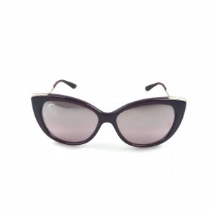 Purple Bvlgari Sunglasses