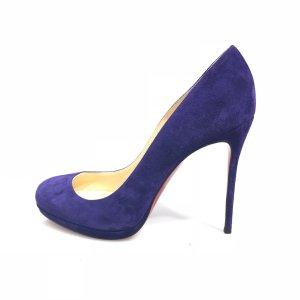 Purple Christian Louboutin High Heel