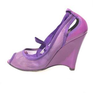 Purple Fendi High Heel