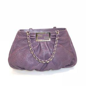 Purple Fendi Shoulder Bag
