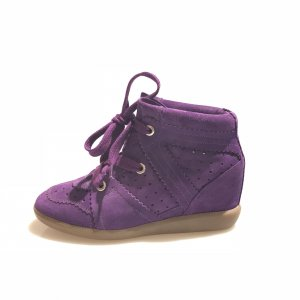 Purple Isabel Marant Sneaker