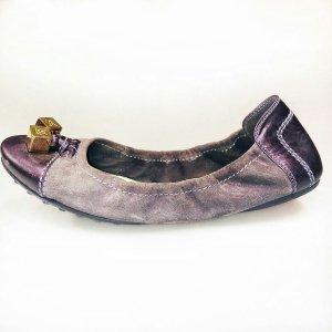 Purple Louis Vuitton Flat