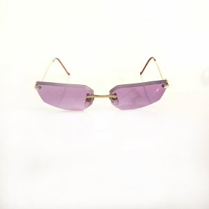 Purple Moschino Sunglasses