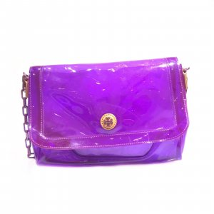 Purple Tory Burch Cross Body Bag