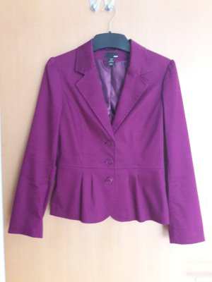 purpurfarbener Blazer