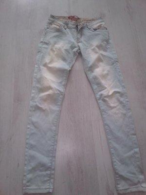 Low Rise jeans babyblauw
