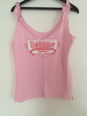 Pussy Deluxe top rosa Tank