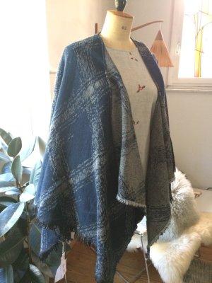 Cape multicolore laine