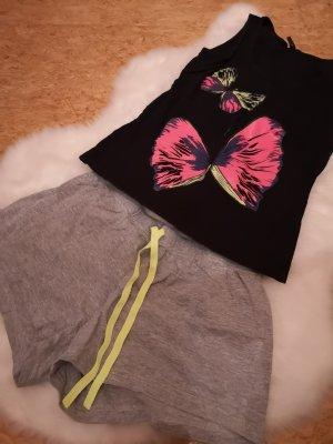 Pijama negro-gris claro