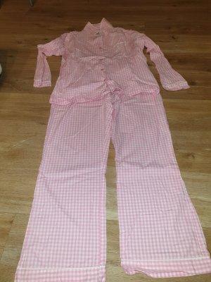 Primark Pyjama blanc-rose clair