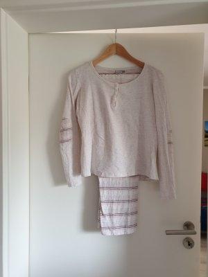 Pyjama licht beige-roze