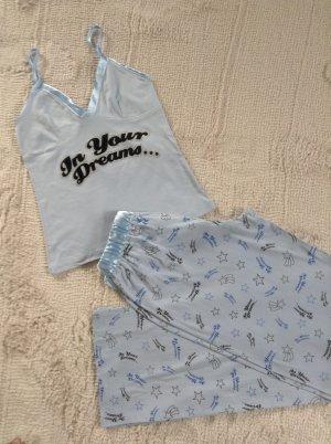 Pyjama / hellblau / Gr. 34/36
