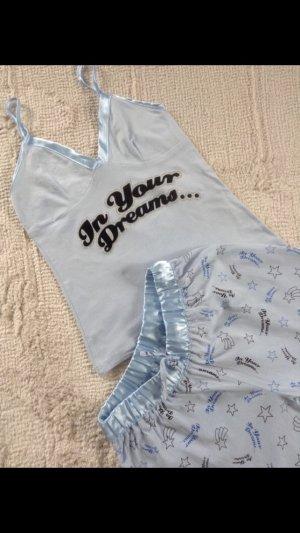 Pyjama/ hellblau / Gr. 34/36 / NEU