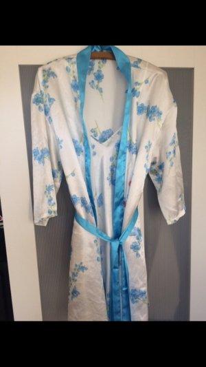 Pyjama Kleid mit Mantel