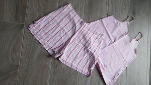 Pyjama blanc-rose