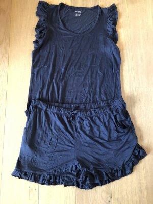 Pyjama Nachtwäsche Homewear Set NEU Gr. L 44/46