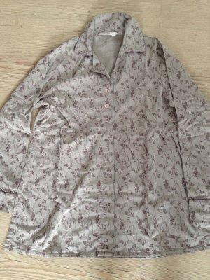Pyjama Oberteil Gr M neu Stickerei edel PILUS