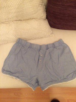 Pyjama Shorts blau weiß von Body 36 S