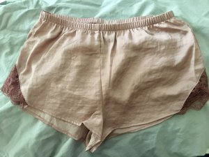 Pyjama Shorts mit Spitze