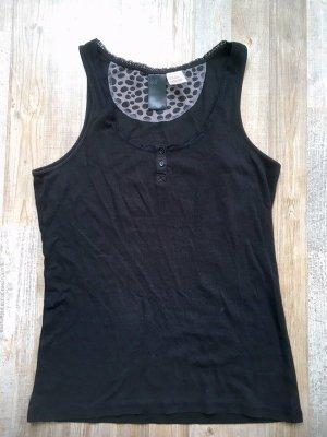 H&M Pyjama zwart-lichtgrijs