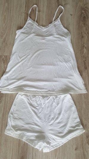 Manguun Pijama blanco