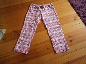 Esmara Pyjama wolwit-stoffig roze Katoen