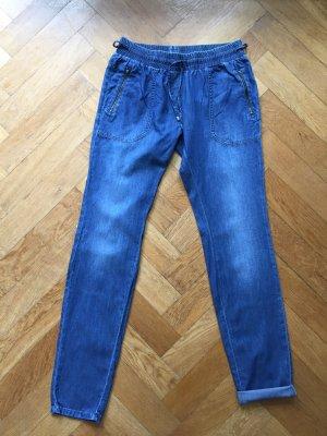 Pyjamahose aus leichtem Jeansstoff