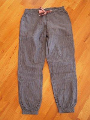 Esprit Pyjama black-pale blue cotton
