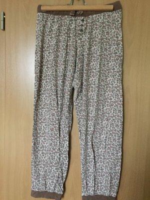 Pyjamahose Leopardmuster